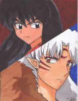 Inuyasha and Sesshomaru by sesshyluver18