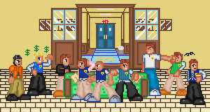 bully - boys dorm by wesvie