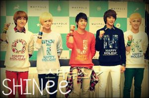 SHINee Maypole by ShineeWorld58