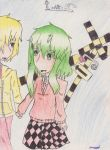 Runaway Boy and Lost Girl (GUMI) by InAParadoxARG