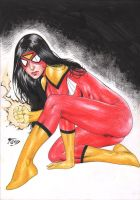 Spider-Woman by Fred Benes by Ed-Benes-Studio