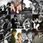 Rolling Stones-Brian and Keith Collage-60's Cuties by Bundles-Of-Fun