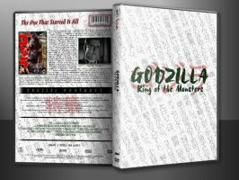 Godzilla Custom DVD Cover In Case by SUPERMAN3D