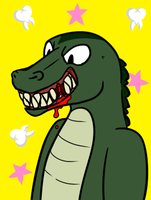 Gator Smile by SPAC3D3AD