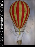 Hot Air Balloon 001 by poserfan-stock