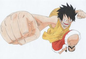 Monkey D. Luffy by IXcutionI