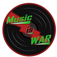 Music Is War Logo (Red) by ABluSkittle