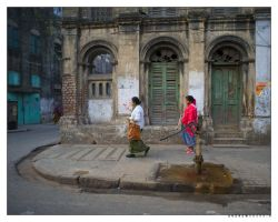 What Once Was (Calcutta, India) by drewhoshkiw