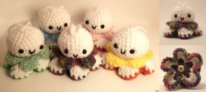 Crochet Cuties: Teru Teru Bozu by Yarn-and-Ink