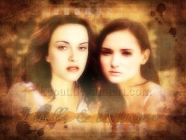 Mother and Daughter by kupat