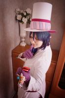 Blue Exorcist: Mephisto Pheles test by JonneCat