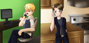 Teencast - Phone Call by teaunicorn