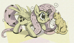 Fluttershy is hungry by LuliLuliLaj