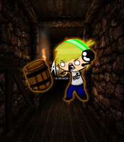 Floating Pewd's AND THE BARREL!! by Misty195