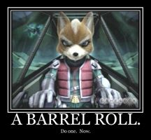 Do a Barrel Roll by SyxxFox