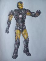 Iron Man Tron Crossover by Dan21Almeida95
