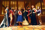 Avengers Gowns by Onyx-chan