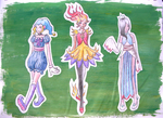 Outfit Designs - Faerie Trio by Alryte