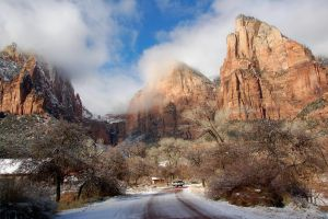 Zion National Park I by esee