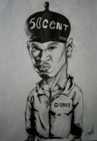 50cent Cartoon by Hankins