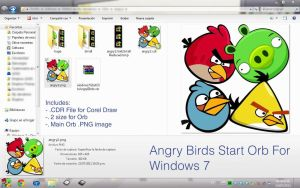 Angry Birds Orb for Windows7 by tomrugar
