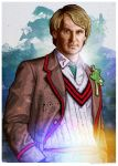 The Fifth Doctor by oldredjalopy