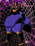 Black Arachnia SSBBW by bellylov3r77
