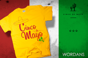 Cinco de Mayo by wordanscustomtshirts