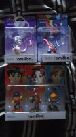 The Pokemon and Mii Fighters amiibo Figures by shnoogums5060
