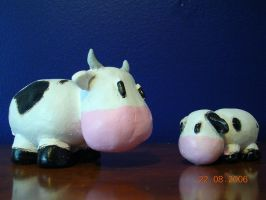 Harvest Moon Cows by Cahni12