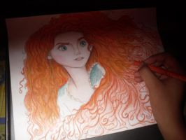 Merida drawing. by Small-Spark