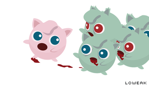Zombie Pokemon Attack by Loweak