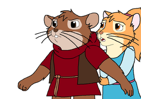 5th Redwall oc: Ronan by warriormoonnight