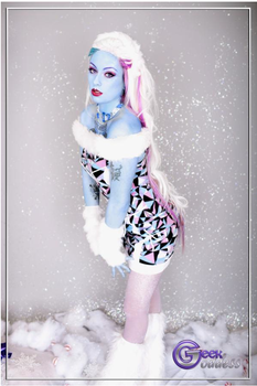 Abbey Bominable Cosplay by screaM4Dolls