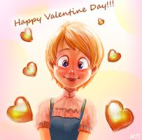 Valentine by njay