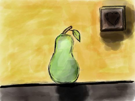 A Pear by Carousel-Arts