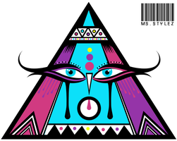 TeePee Vector By Me by MsDaijahStylez