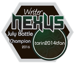 WN July Champion tarin2014tfan by sampsonknight