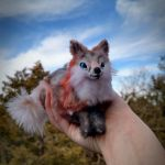 Posable tiny fox Art doll. by HoneyCricket