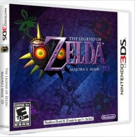 Majora's Mask 3DS ON BOX by CapuchinoMedia