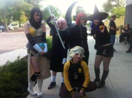 Soul Eater Group Cosplay by CaptainFreetoast