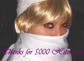 Stares: Thanks for 5000 Hits by oOPrinzessinZeldaOo