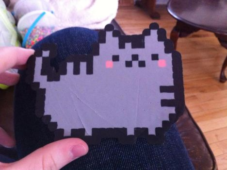 Pusheen the Facebook cat by Number1HinataFan2