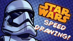 Force Friday Speed Drawing by JoeHoganArt