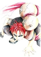 Out for Blood  - Gaara  '06 by lilbit075