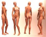 Female Body Reference Stock by KaanaMoonshadow