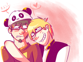 A bromance so close by Gamchawizzy