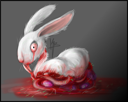 Mr Fluffles by Laughing-Lagomorph