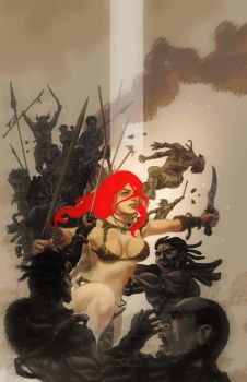 Red Sonja by randyvaliente