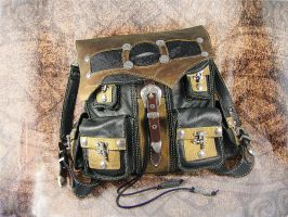 Leather Backpack - Journey Towards the End by LabyrinthLeather